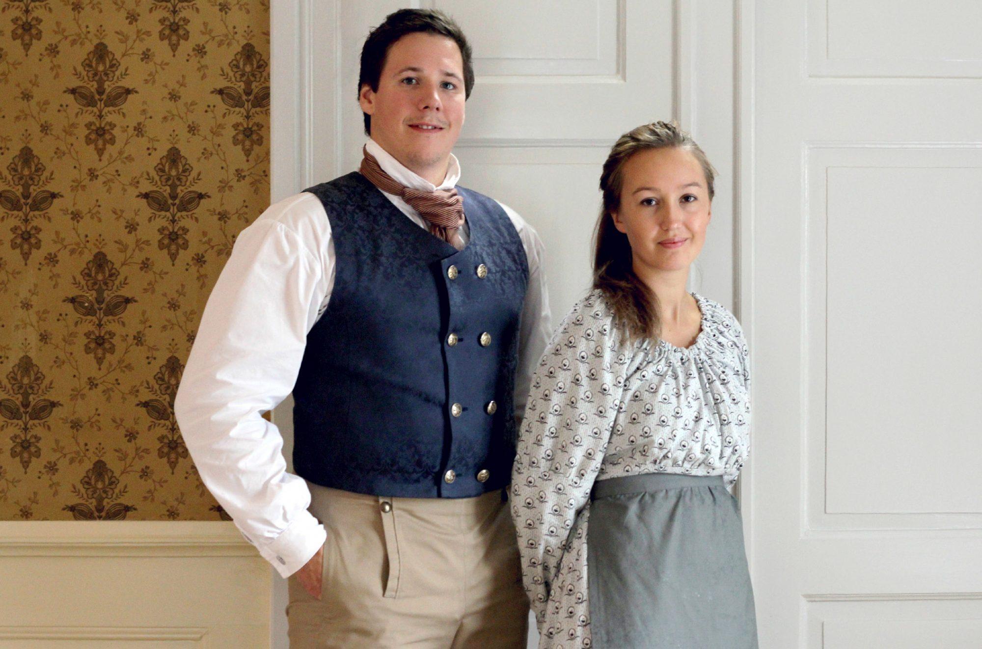 Historiske klær til Kongsvinger festning